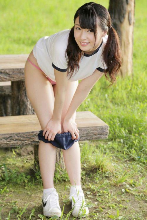 【JK画像】お尻と股間に注目を集めちゃうブルマってやっぱエロイよな! 39枚 No.19