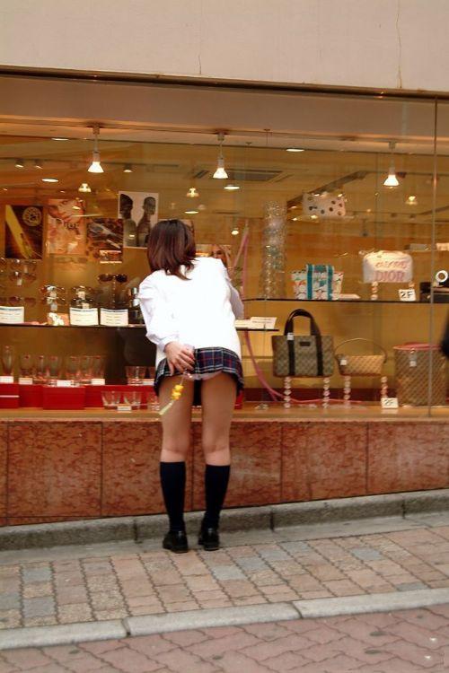 JKのお尻パンツを見上げる盗撮におっきしちゃいそうなエロ画像 40枚 No.27