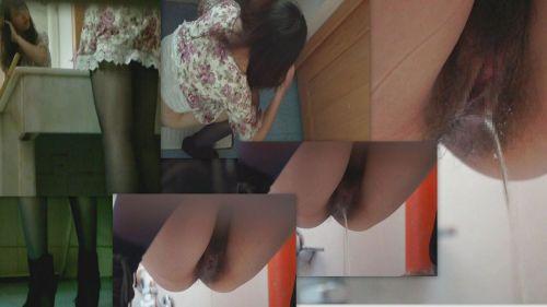 和式トイレでお○っこしているお姉さんを前方から盗撮激写画像 36枚 No.7