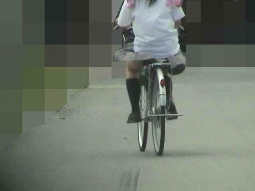 【盗撮】街中を歩いてたら自転車通学中のJKのパンチラ見えちゃったわwww 39枚 No.13
