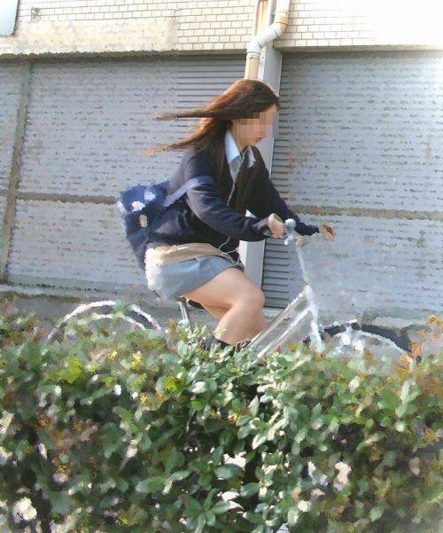 【盗撮】街中を歩いてたら自転車通学中のJKのパンチラ見えちゃったわwww 39枚 No.24