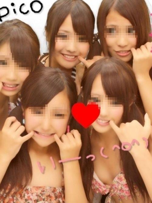 素人ギャルのビキニプリクラ画像まとめ 34枚 No.11