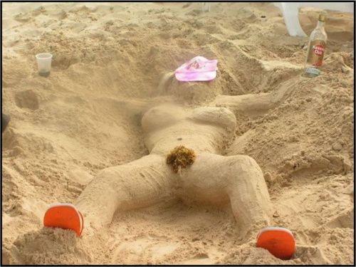 海外旅行で一度は行きたい地上の楽園ヌーディストビーチのエロ画像 No.25