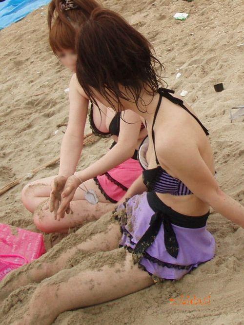 【盗撮画像】夏の風物詩だ!エロいギャルの水着おっぱい! 35枚 No.27