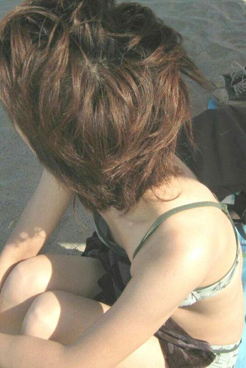 【盗撮画像】夏の風物詩だ!エロいギャルの水着おっぱい! 35枚 No.28