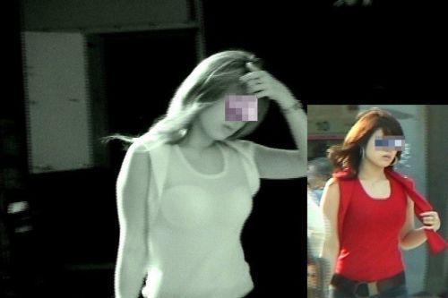 【画像】赤外線でおっぱいを盗撮したら透視してるみたいでエロ過ぎ 32枚 No.29