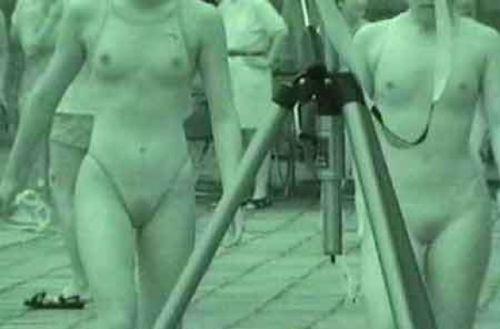 【画像】赤外線盗撮で水着女子の乳首やマン毛が丸見えシコタwww 39枚 No.3