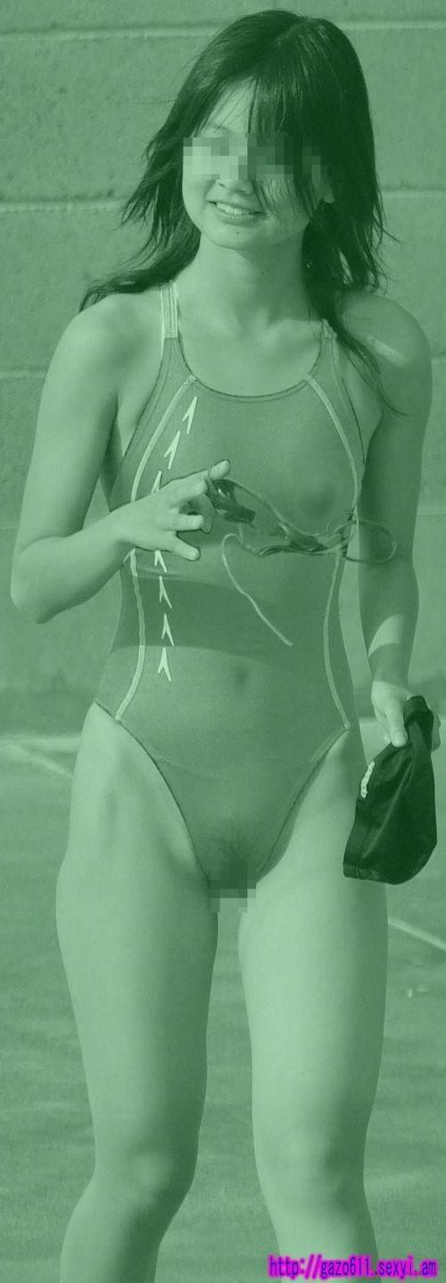 【画像】赤外線盗撮で水着女子の乳首やマン毛が丸見えシコタwww 39枚 No.6