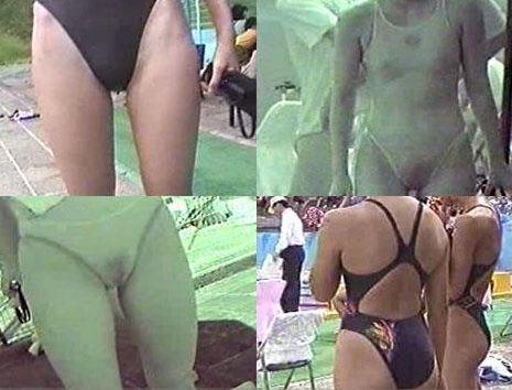 【画像】赤外線盗撮で水着女子の乳首やマン毛が丸見えシコタwww 39枚 No.10