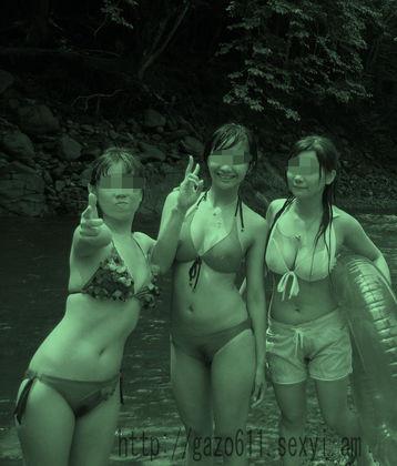 【画像】赤外線盗撮で水着女子の乳首やマン毛が丸見えシコタwww 39枚 No.25