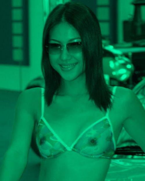 【画像】赤外線盗撮で水着女子の乳首やマン毛が丸見えシコタwww 39枚 No.29