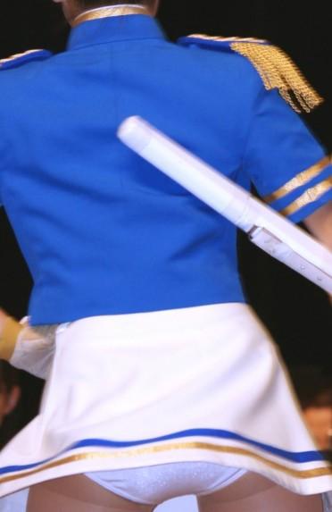 内ももの筋肉の筋がエッチなチアガールの全力開脚の盗撮画像 No.29