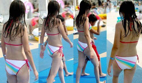 水着の女の子のエッチなお尻だけを集めたエロ画像 35枚 No.18