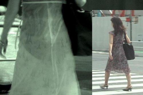 【盗撮エロ画像】赤外線カメラで街撮りしたらパンティ透視状態だわwww 31枚 No.2