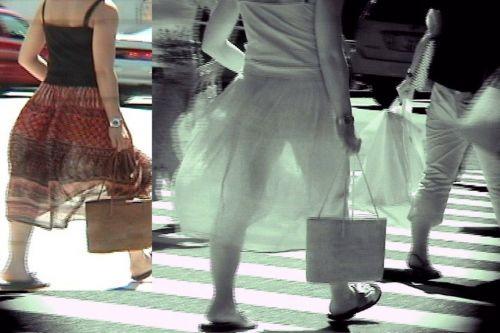 【盗撮エロ画像】赤外線カメラで街撮りしたらパンティ透視状態だわwww 31枚 No.14