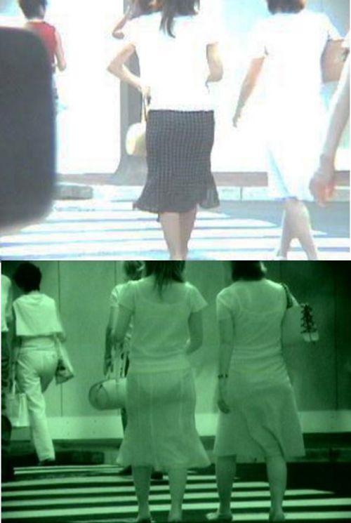 【盗撮エロ画像】赤外線カメラで街撮りしたらパンティ透視状態だわwww 31枚 No.17