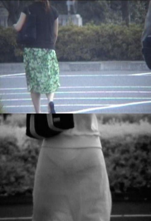 【盗撮エロ画像】赤外線カメラで街撮りしたらパンティ透視状態だわwww 31枚 No.21