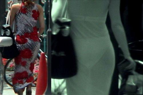 【盗撮エロ画像】赤外線カメラで街撮りしたらパンティ透視状態だわwww 31枚 No.30