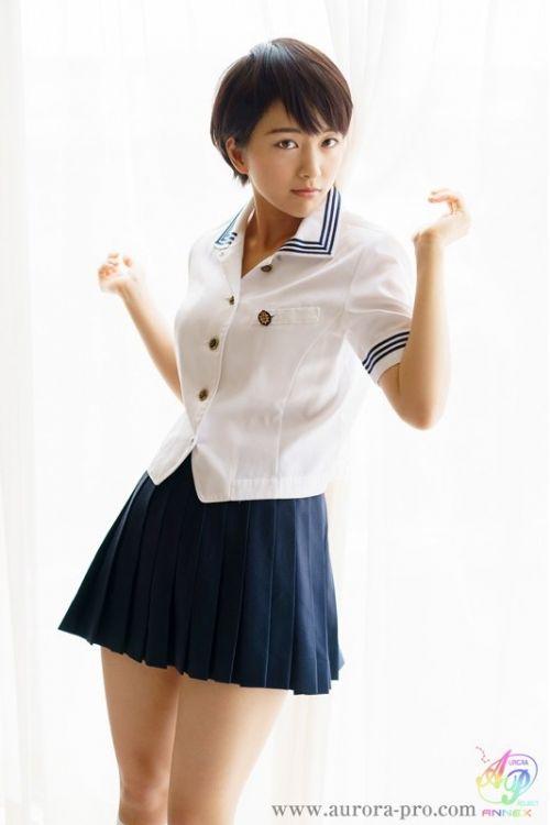 向井藍(むかいあい)ショートヘアな美少女AV女優のエロ画像 89枚 No.30