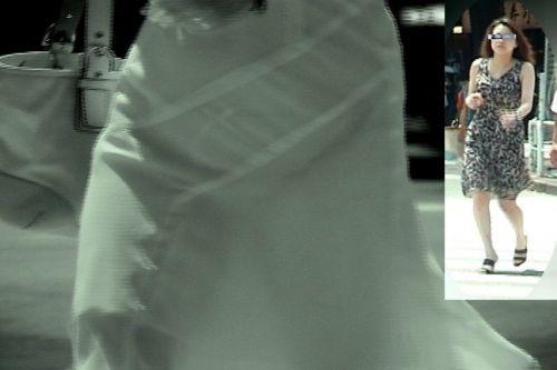 赤外線盗撮でパンティが丸見えになって素人ギャルのエロ画像 33枚 No.2
