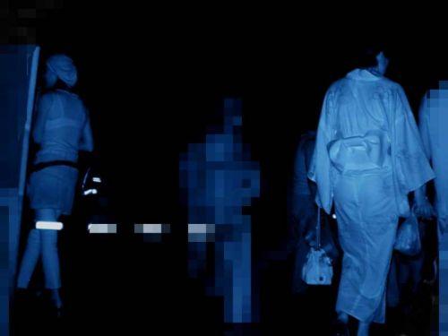 赤外線盗撮でパンティが丸見えになって素人ギャルのエロ画像 33枚 No.18