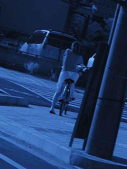 赤外線盗撮でパンティが丸見えになって素人ギャルのエロ画像 33枚 No.26