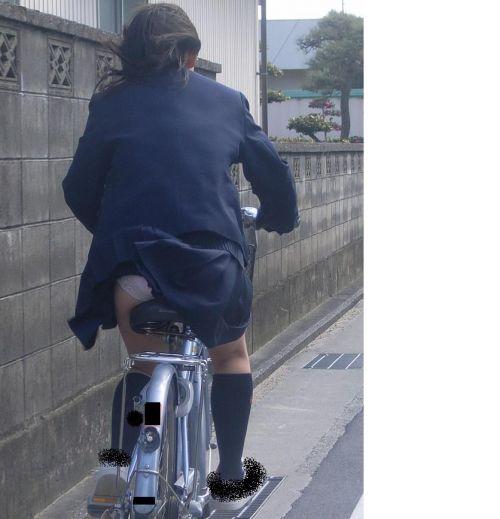 JKの自転車パンチラ盗撮画像集めたから貼っていくわ! 42枚 part.2 No.2