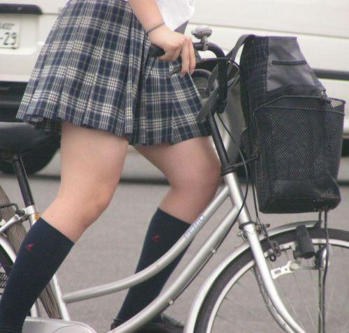 JKの自転車パンチラ盗撮画像集めたから貼っていくわ! 42枚 part.2 No.6