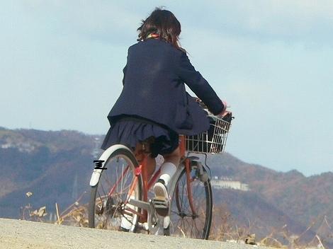 JKの自転車パンチラ盗撮画像集めたから貼っていくわ! 42枚 part.2 No.16