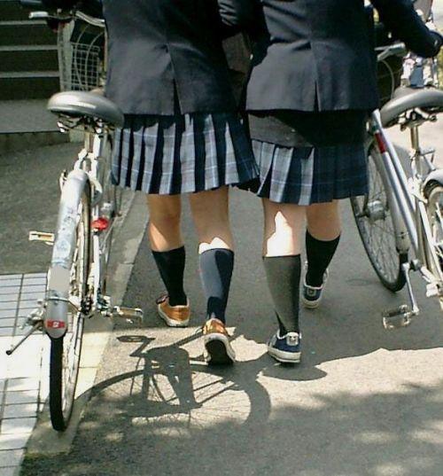 JKの自転車パンチラ盗撮画像集めたから貼っていくわ! 42枚 part.2 No.18
