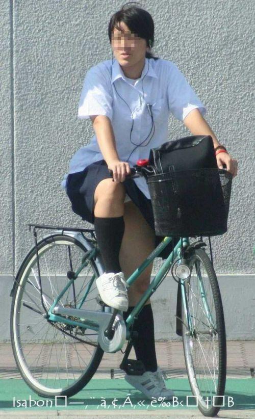 JKの自転車パンチラ盗撮画像集めたから貼っていくわ! 42枚 part.2 No.20