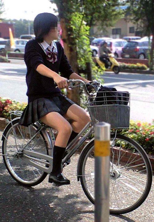 JKの自転車パンチラ盗撮画像集めたから貼っていくわ! 42枚 part.2 No.22