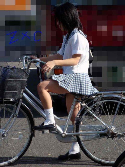 JKの自転車パンチラ盗撮画像集めたから貼っていくわ! 42枚 part.2 No.32