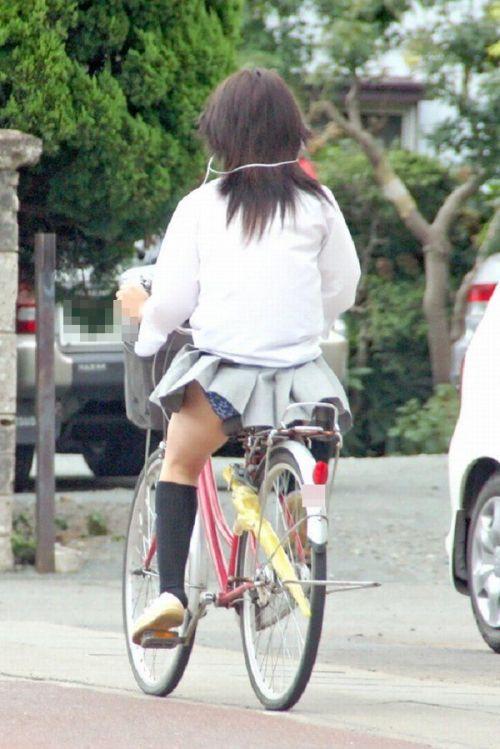 JKの自転車パンチラ盗撮画像集めたから貼っていくわ! 42枚 part.2 No.38