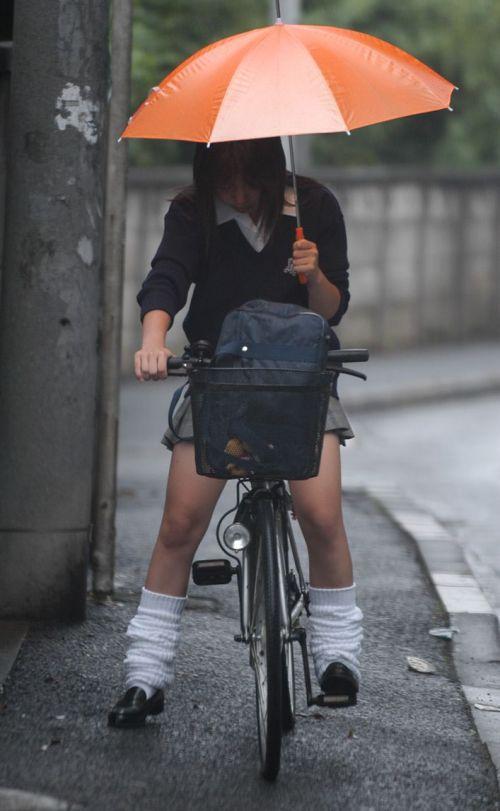 JKの自転車パンチラ盗撮画像集めたから貼っていくわ! 42枚 part.2 No.39