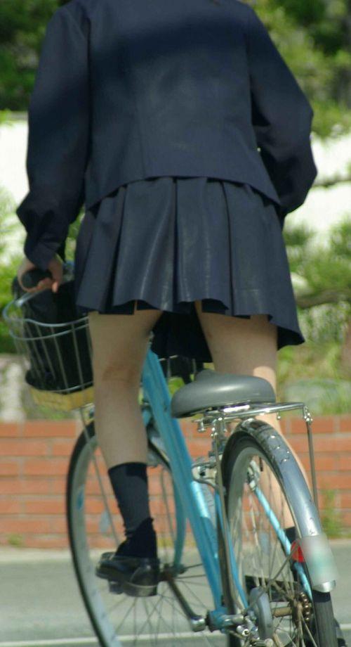 JKの自転車パンチラ盗撮画像集めたから貼っていくわ! 42枚 part.2 No.42