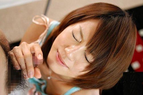精液を掛けられた女の子は喜ぶのか嫌がるのか?見比べるエロ画像 37枚 No.25