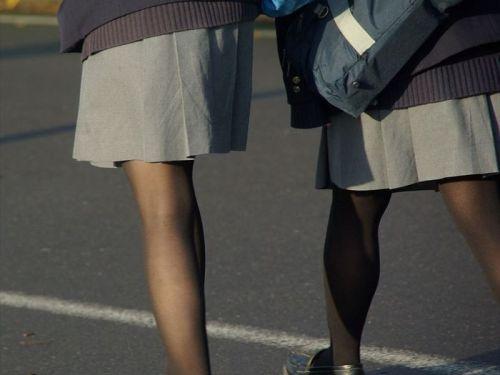 女子校生のミニスカに黒タイツが清楚かつエロく見える件 37枚 No.35