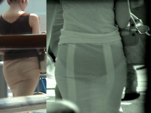 【画像】どんなパンティ履いてるか気になったら赤外線盗撮一択www 31枚 No.1