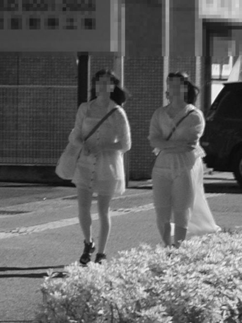 【画像】どんなパンティ履いてるか気になったら赤外線盗撮一択www 31枚 No.24