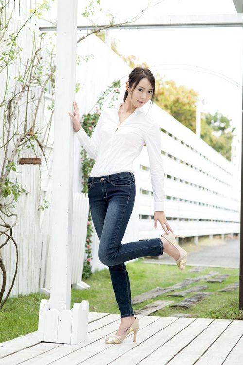 秋葉あかね(あきばあかね)177cmの長身巨乳スレンダーAV女優のエロ画像 105枚 No.5