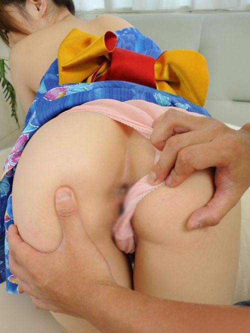 【画像あり】浴衣美女がはだけたままセックスした結果www 38枚 No.14