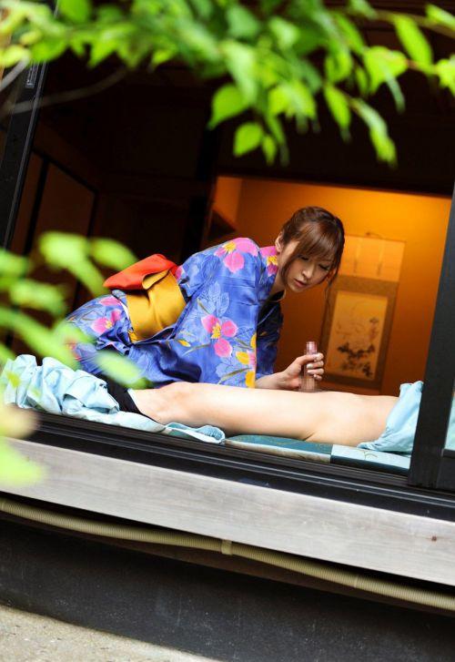 【画像あり】浴衣美女がはだけたままセックスした結果www 38枚 No.16