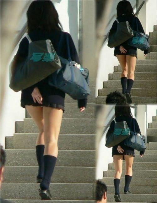 女子校生の階段パンチラ画像がエロ過ぎワロリンww 31枚 No.5