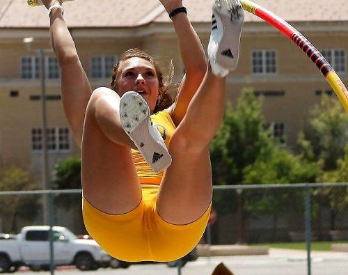 女子アスリートが競技で輝く一瞬をエロく切り取ったハプニングエロ画像 37枚 No.25