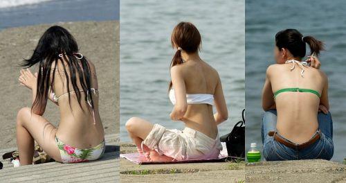 【※ぼっき速報】エッチなお尻のラインにこだわった水着盗撮画像 35枚 No.12