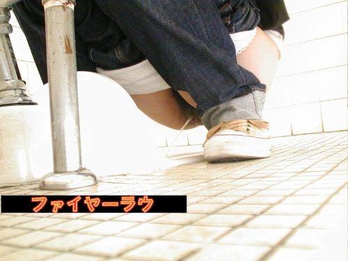 【画像】和式トイレで盗撮したOLお姉さんのまんこ周りがエロ過ぎる 35枚 No.23