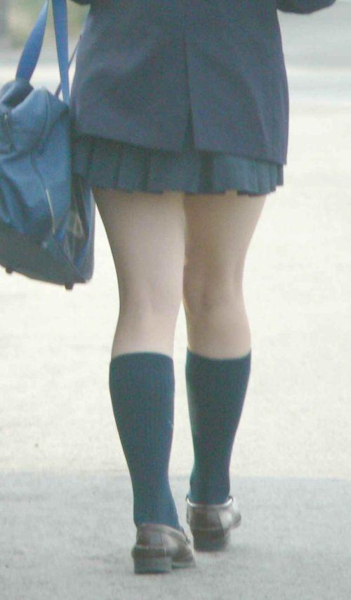 【エロ画像】JKの生脚・太ももが好き過ぎる奴ちょっと来い! No.34