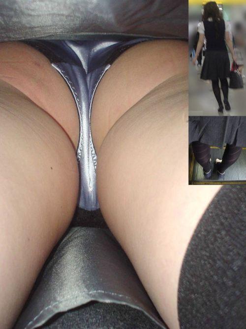 【逆さ撮り画像】素人ギャルやお姉さんの綺麗なケツと汚いケツを比較したったwwwww No.17