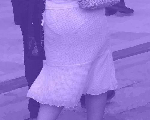 【盗撮画像】赤外線カメラで素人パンティを街撮りした結果www 33枚 No.4